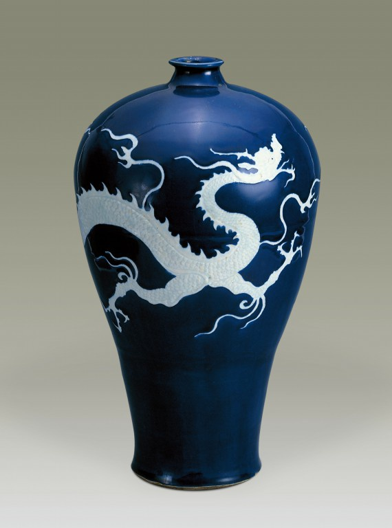 看见文物 | 这件器物,代表元代景德镇瓷器烧制的最高水平