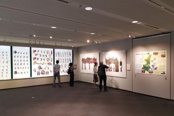 中国陕西皮影艺术展在东京诠释国风秦韵
