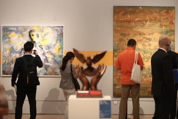 """上海合作组织国家美术作品共展""""同一梦想"""""""