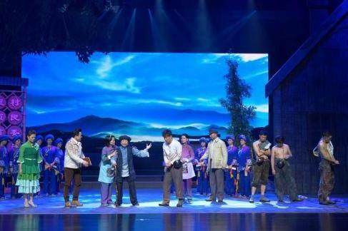 音乐剧《太阳照进山窝窝》在湖北剧院上演