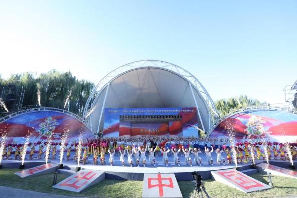 """公共 """"舞出中国红""""全国广场舞展演2021""""舞动北京""""第五届海淀广场舞达人秀活动启动"""