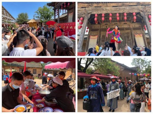 公共   欢度国庆、精彩不停 陕西白鹿原影视城各色活动为国庆生