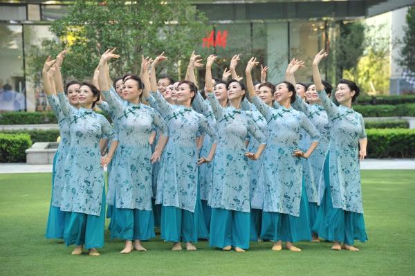 """公共 广场舞团队""""云上""""集结,舞出建党百年辉煌"""