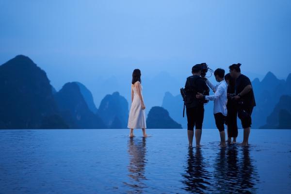 旅游 | 演员王鸥回到家乡广西拍摄文旅宣传片
