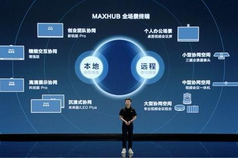 MAXHUB继续领跑会议平板市场,2021 Q2市占率荣登榜首