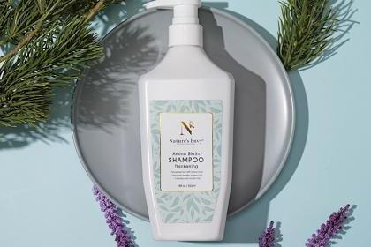 天然之扉氨基酸生物素洗发露 富含多种天然植物精华 为秀发弥足养分