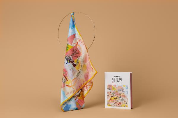与爱马仕合作艺术家共同打造定制丝巾,考拉海购·出品带来了世界级的偏爱