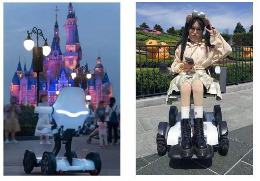 邦邦代步 智享出行——解放双腿,无障碍畅游迪士尼火热进行中