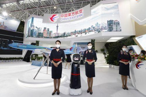 中国东航展台精彩亮相航展 聚焦绿色飞行智慧出行