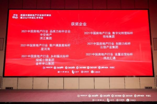 """云信产业集团荣获""""2021创新力标杆品牌企业""""殊荣"""