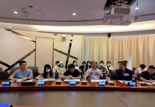 SAAI走进企业系列活动第四站——走进中智卫安,助力机器人技术产学研创新发展
