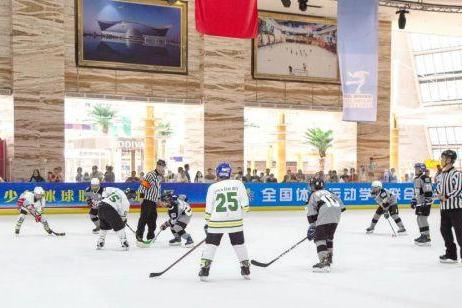 2021中国青少年冰球联赛圆满结束