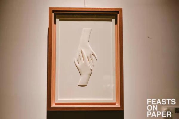 用纸艺术传递抗疫信念,2021上海国际纸艺术双年展开幕