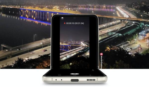 三星Galaxy Z Flip3 5G拍摄出圈影像作品 连自拍也能如此自然