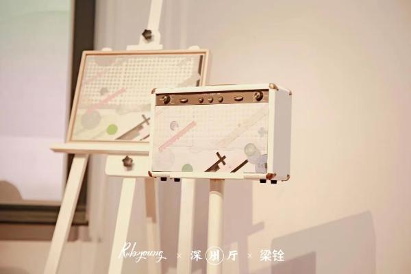 """Rubyoung如比扬与艺术家梁铨联名限量""""大师版""""首次亮相"""
