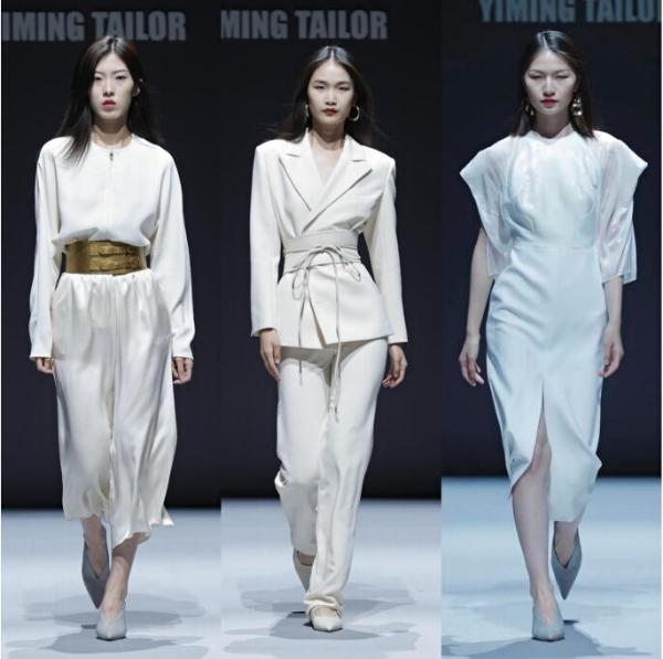 高定设计师艺铭22春夏系列亮相时装周——藏在丝线与色彩中的20世纪