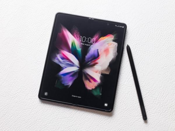 三星Galaxy Z Fold3 5G折叠大屏和S Pen成移动办公最佳组合