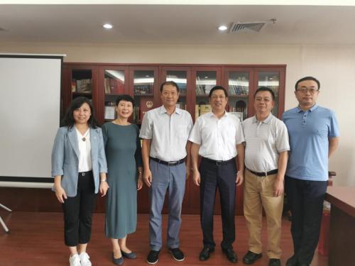 丰尚公司董事长范天铭一行拜访中国农机工业协会