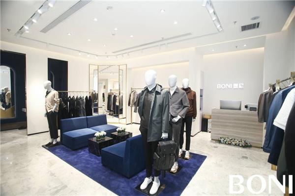 BONI堡尼首家icon形象店进驻重庆星光68广场