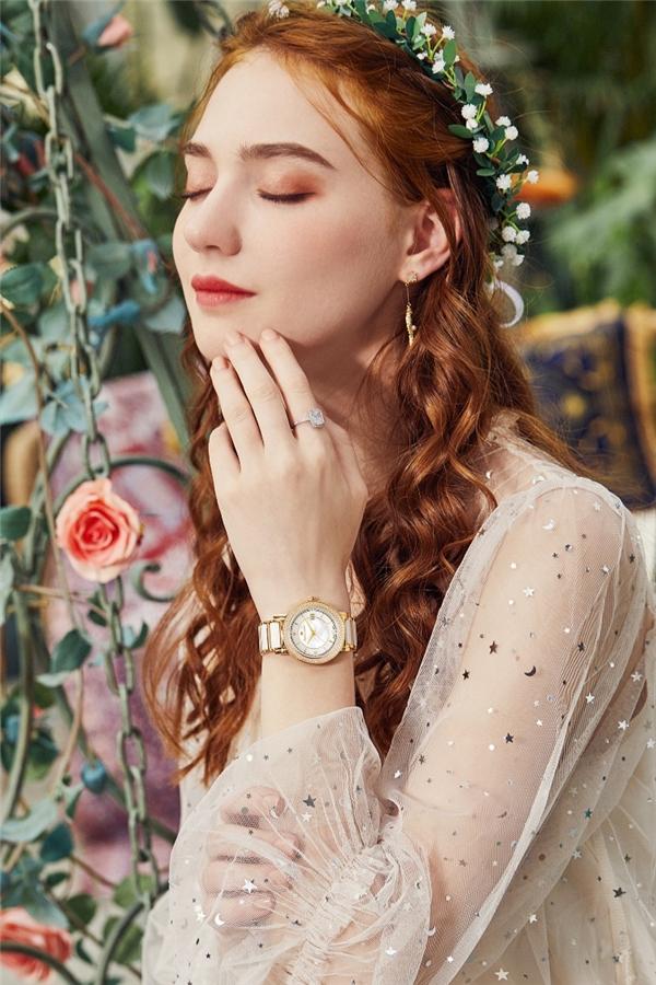 仙女必备的高颜值手表,迈格朗锆石贝母表火了