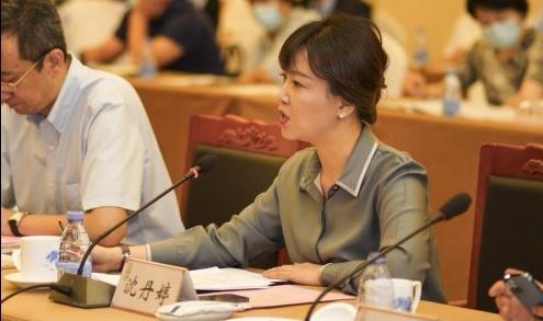 亚信数据总裁沈丹婷出席2021服贸会企业家恳谈会