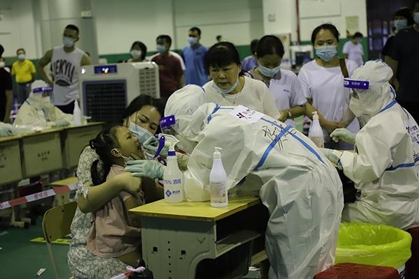 美年大健康支援福建核酸检测 完成核酸采集近20万份