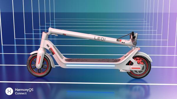 支持HarmonyOS Connect,华为智选乐骑智能电动滑板车首发
