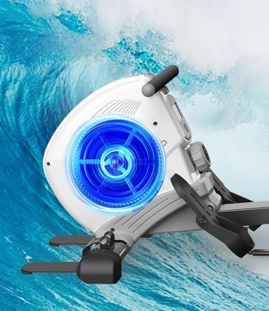 云游通划船机一项运动锻炼全身 体育强国从我做起