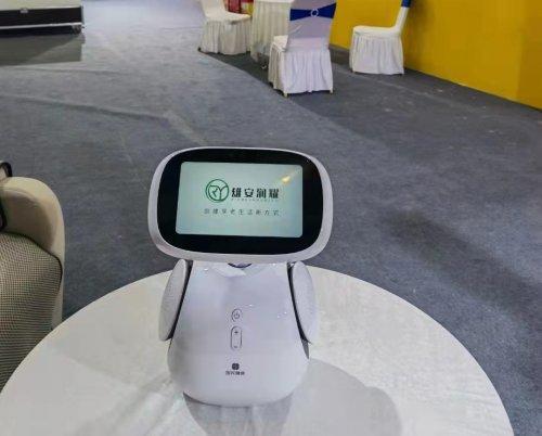 雄安润耀顺利参展数博会:康养与科技之约