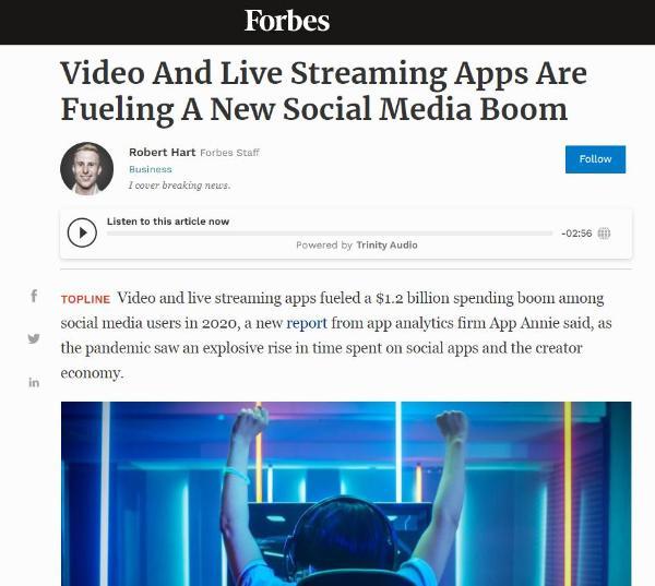 App Annie:代表社媒新范式的,为什么是BIGO?