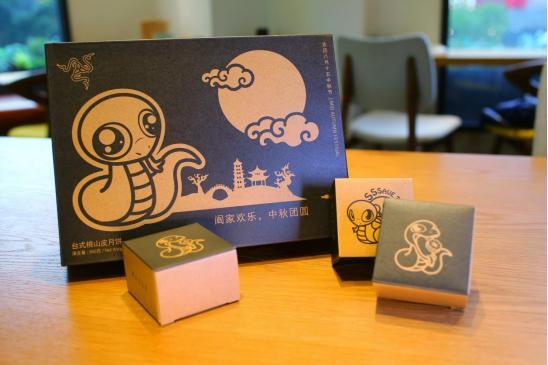 雷蛇联合锋味推出中秋月饼,包装礼盒别有一番匠心,彰显绿色环保