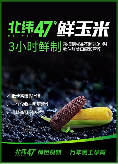 """一颗好玉米是怎样炼成的?北纬47度""""领鲜""""行业新标准"""