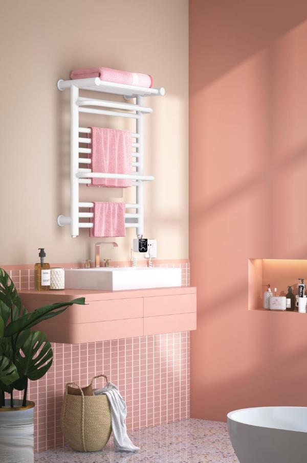 艾芬达AI语音智控电热毛巾架:开启健康舒适家居新体验