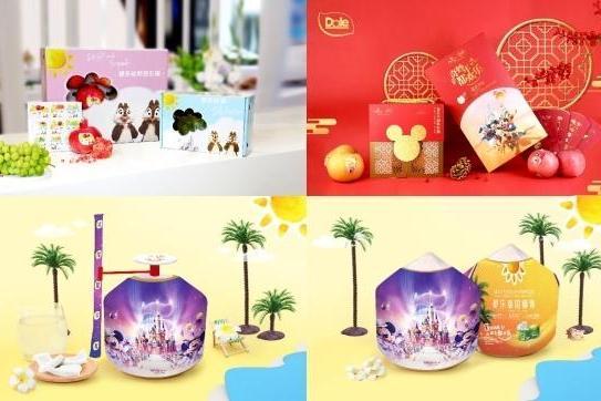 新品亮相 | 都乐携手上海迪士尼度假区推出蓝莓礼盒惊艳上市