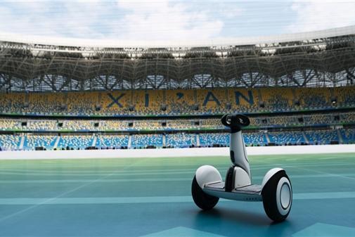 九号公司助力第十四届全运会:平衡车上演运动科技之美