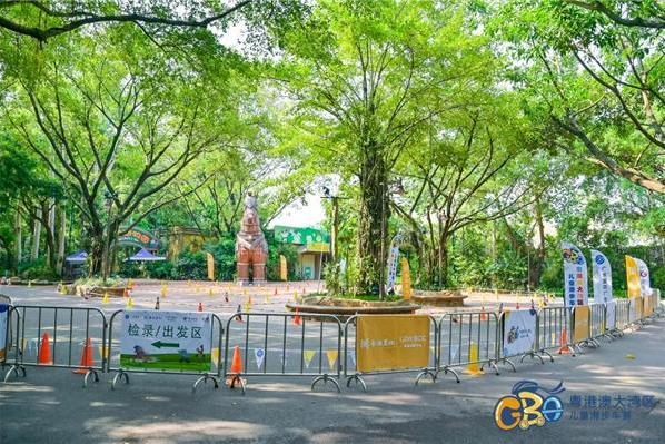 2021粤港澳大湾区儿童滑步车赛长隆站顺利举行!小骑手挑战丛林跑道!
