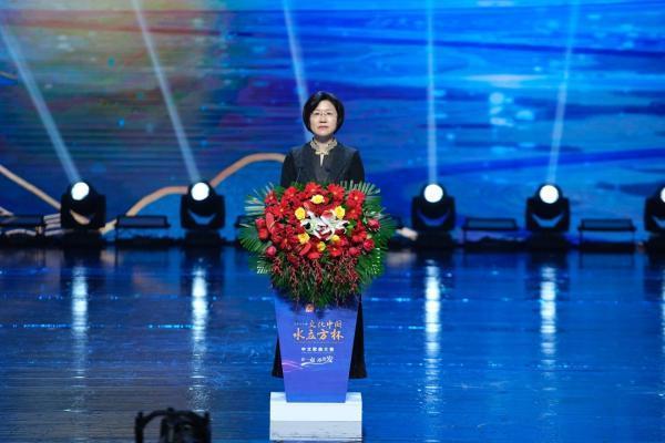 """2021年""""文化中国·水立方杯""""中文歌曲大赛联欢晚会在京举行"""