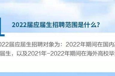 高校毕业生们别错过!华为2022应届生招聘进行中,9月开始宣讲
