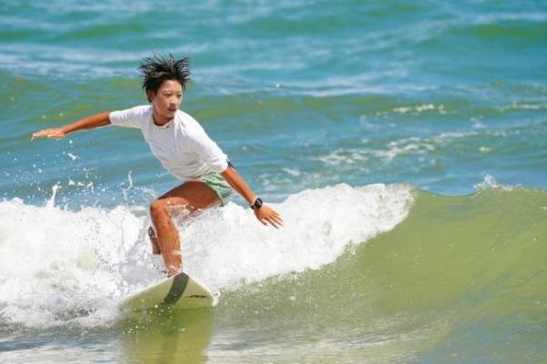 全运会史上首枚冲浪金牌将在海南万宁日月湾产生