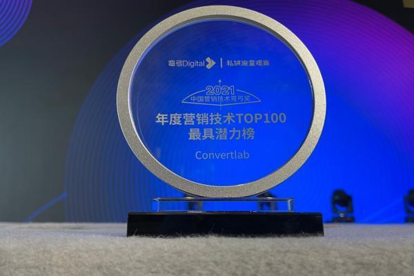 2021中国营销技术生态图谱Convertlab入选14项类目