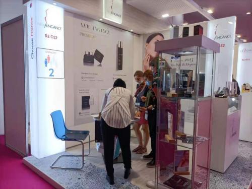 心仙格受邀出席第25届中东迪拜美容展会,产品引爆全场