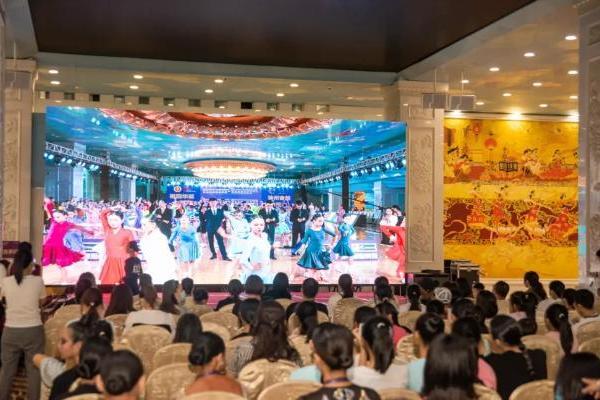 湖湘盛典,QUEEN'S HOLIC独家冠名二十八届体育舞蹈锦标赛