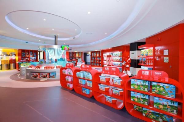 快乐开启!布鲁可积木首家品牌馆正式入驻长隆