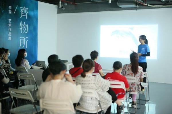 公益融入艺术!蓝色海洋与青年艺术家李霖联合推出公益艺术活动