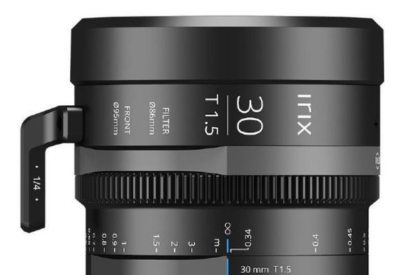 支持8K拍摄 Irix Cine 30mm T1.5电影镜头发布