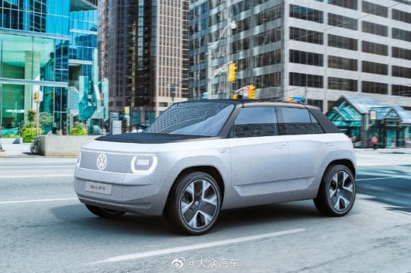 大众ID. LIFE首秀:紧凑型纯电动跨界概念车