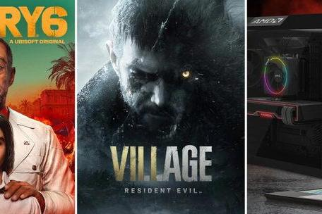 AMD游戏捆绑包更新为孤岛惊魂6和生化危机8