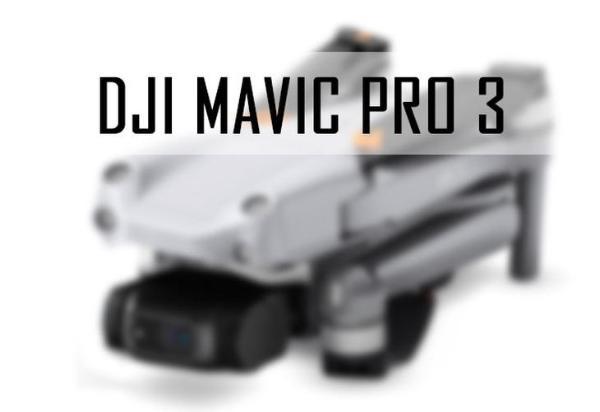 可能会用M4/3传感器?大疆Mavic Pro3设计图曝光