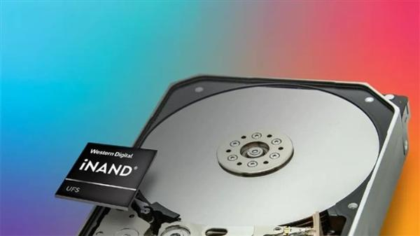 集成UFS闪存!西数发布全新20TB机械硬盘
