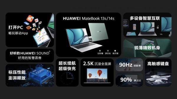 兼容丰富移动APP!华为MateBook 13s、MateBook14s推出移动应用引擎功能